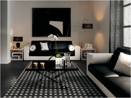 black and white living room decor. black white living room decor interiors 6  Styled Haven Design Blog