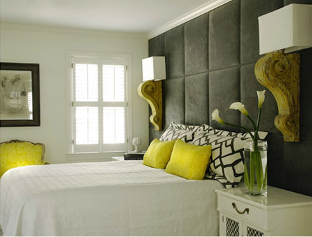Bedroom interior picture interior bedroom decorating for Yellow bedroom interior design