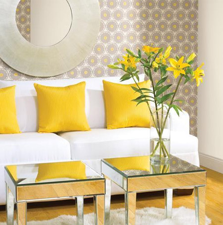 interior-design-yellow-living-room-decor-3 » Styled Ha