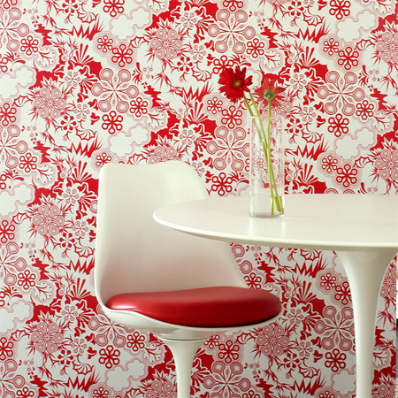 red-interior-design-red-tulip-chair-decor-7